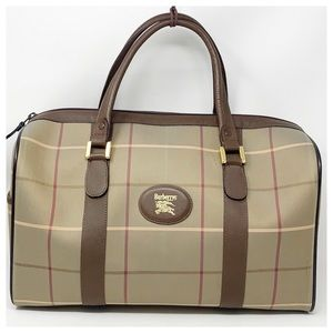 Authentic Burberry Travel Bag